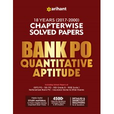 Bank PO Quantitative Aptitude Chapterwise Solved Papers