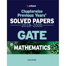 Chapterwise Solved Papers Mathematics GATE 2018
