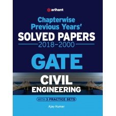 Civil Engineering Chapterwise Solved Papers GATE 2018