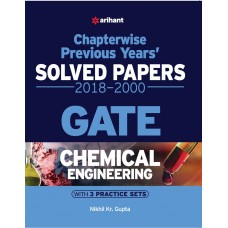 Chemical Engineering Chapterwise Solved Papers GATE 2018