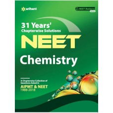 31 Years' Chapterwise Solutions CBSE AIPMT & NEET - Chemistry