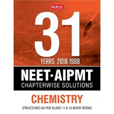 31 Years NEET-AIPMT Chapterwise Solutions - Chemistry