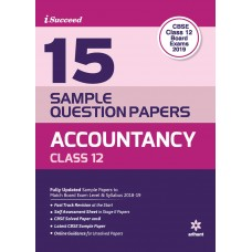 CBSE 15 Sample Question Paper - Accountancy for Class 12th